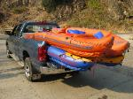 Loaded up at Grave Creek - Rogue River