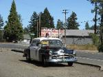 Old Cave Junction, OR Sheriff's car