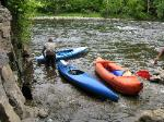 Whitewater Kayaking on West Canada River